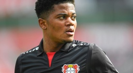Leon Bailey could leave Bayer Leverkusen. AFP