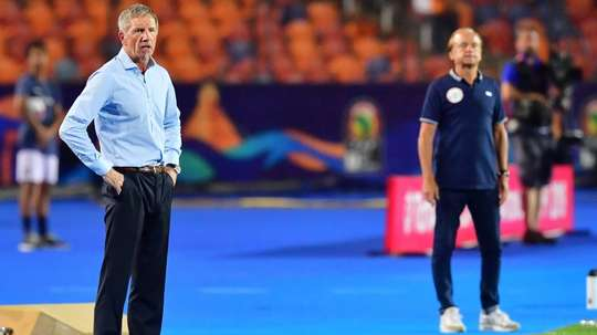 Baxter did not manage to lead South Africa to their wanted result. AFP