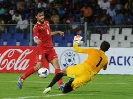 Goalkeeper Subrata Paul has been tested positive on drugs. AFP
