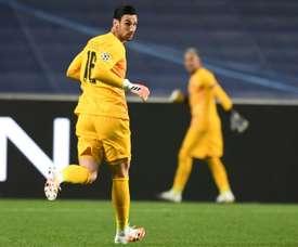 Sergio Rico replaced the injured Keylor Navas. AFP/Archivo