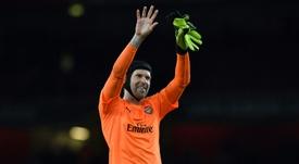 Cech podría regresar al Chelsea. AFP