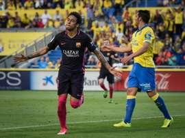 Le joueur de Las Palmas a fait les éloges du Barça. AFP
