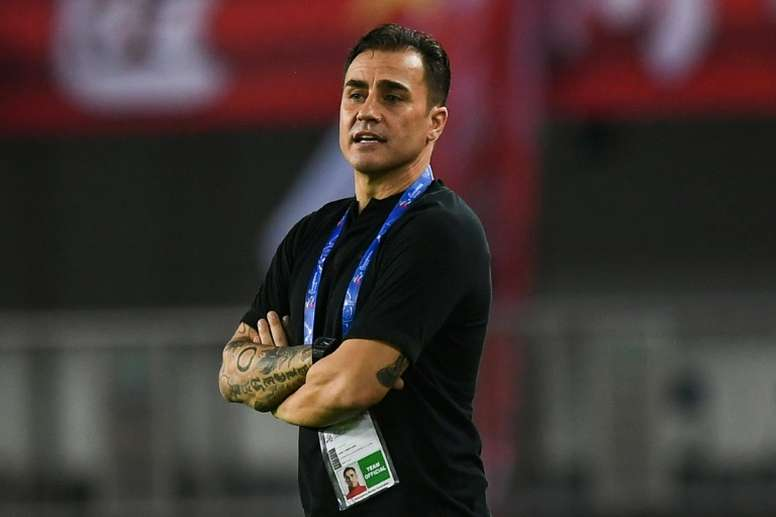 Cannavaro boost as Guangzhou win feisty China title clash. AFP
