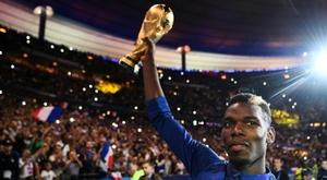 Madrid y Juventus se disputan el fichaje de Pogba. AFP