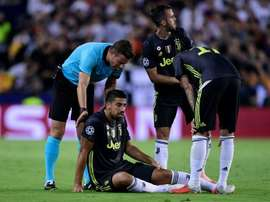 Khedira and Rugani are now injured. AFP