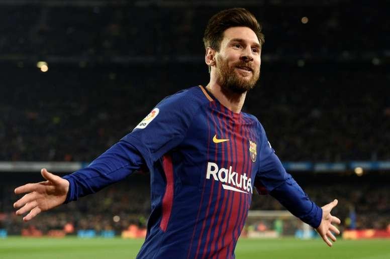 Sampaoli quiere a Messi en perfectas condiciones para el Mundial. AFP