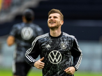 Un fan a demandé à Werner de partir... AFP