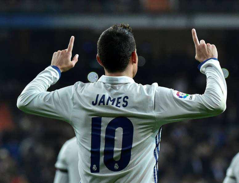 The best of James with Real Madrid. AFP