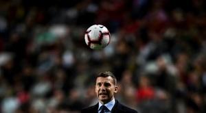 Shevchenko pode ser o próximo técnico do Milan. AFP