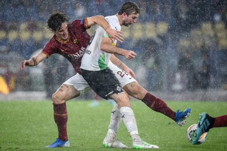 Roma drew 1-1. AFP