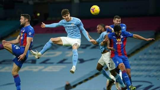 Manchester City donne une leçon à Crystal Palace. afp