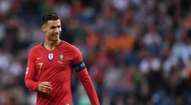 Cristiano Ronaldo, o homem dos 702 gols. AFP