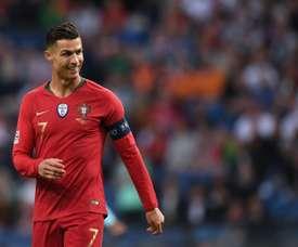 Milan tentou contratar Cristiano, mas ficou com Bonucci. AFP
