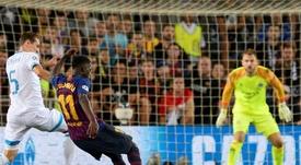 Les compos probables du match de Ligue des champions entre Lyon et le Barça. AFP