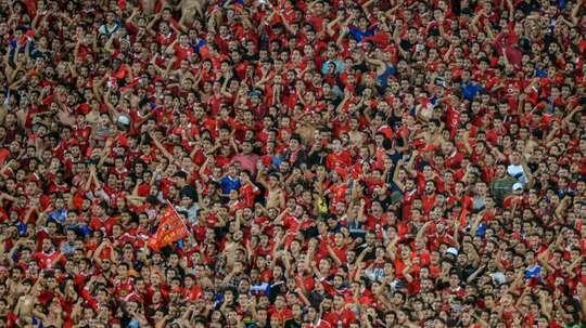 Egypt football fans sentenced to jail. AFP