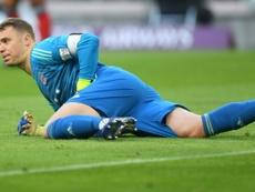 Manuel Neuer. AFP