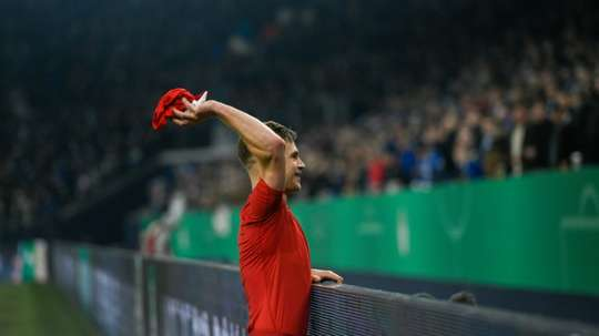 Kimmich fires Bayern into cup semis, Saarbrucken stun Fortuna