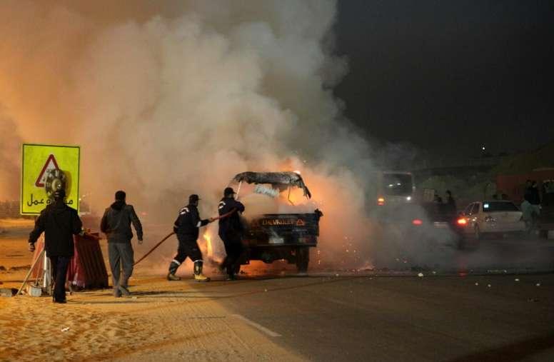 Egypt jails 14 over deadly 2015 stadium stampede. AFP