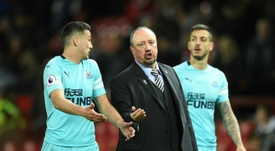 Newcastle need a win. AFP