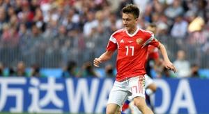Rusia no pudo pasar del empate ante Suecia. AFP