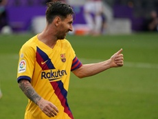 Barcelona won 1-0. AFP
