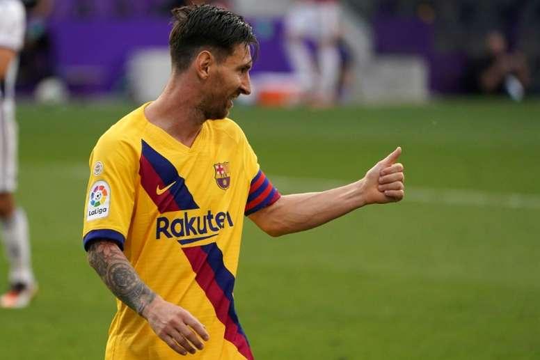 Leo Messi has made 142 Champions League appearances. AFP