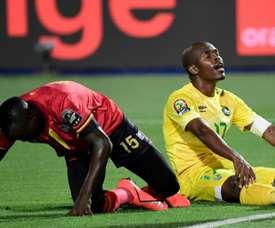 Musona missed an open goal as Zimbabwe drew with Uganda. AFP