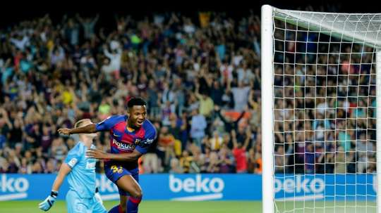 Le groupe du FC Barcelone. EFE
