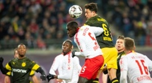 Bayern are also after Upamecano. AFP