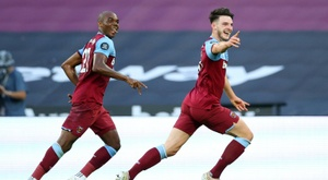 West Ham close to survival after vital win over Watford