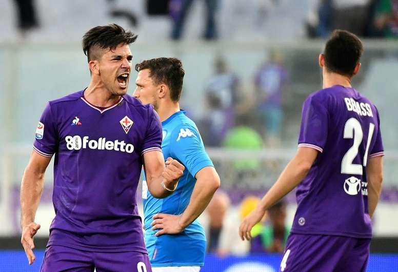 Simeone pourrait rejoindre la Sampdoria. AFP