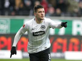 Luka Jovic never set foot in Cyprus. AFP