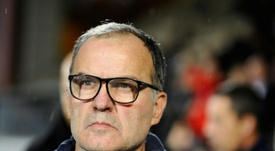 Bielsa's hopes of earning Leeds United automatic promotion to the Premier League flop. AFP