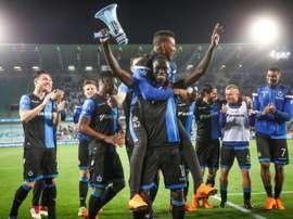 El Brujas se proclamó campeón de la Supercopa. AFP