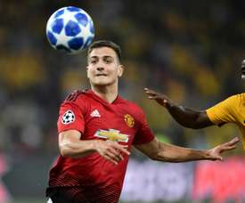 Dalot has been injury-hit since he joined the club. AFP