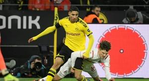 Achraf Hakimi é um dos grandes nomes da Bundesliga. AFP