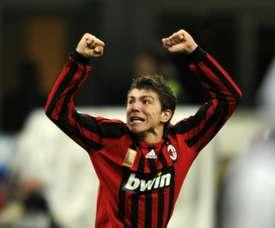 Alberto Paloschi amargó al Inter con el SPAL. AFP