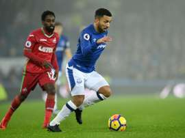 Aaron Lennon upbeat after joining Burnley from Everton. AFP