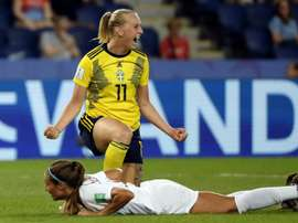 Swedish women aim to slay their 'damn German ghost'