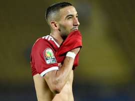 Hakim Ziyech was left to rue a missed penalty in injury time. AFP