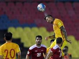China venció a Tailandia. AFP