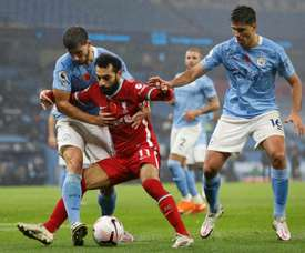 Salah has called for unity. AFP