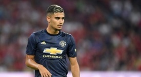 Andreas Pereira fully intends to see through his dream of playing for Santos. AFP