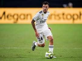 O Real Madrid reservou um lugar para Dani Ceballos. AFP
