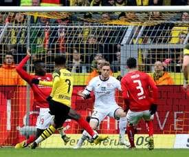 Sancho's brace regained Dortmund's confidence. AFP