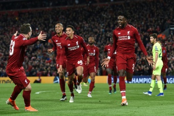 El Liverpool pretende vender a Origi y Shaqiri. AFP