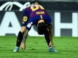 Cappa alabó a Messi, aunque con cautela. AFP