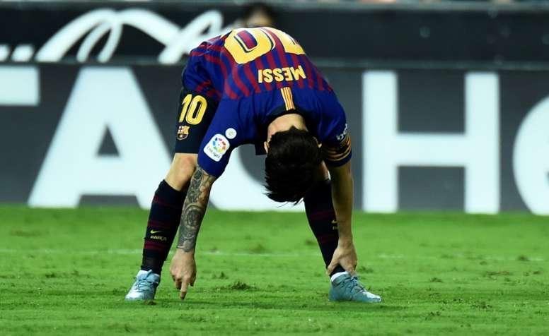 Demichelis habló de manera íntima de Messi. EFE