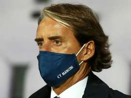 Mancini has apologised. AFP