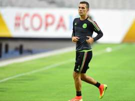 Mexico captain Rafa Marquez. AFP